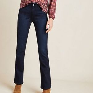 Paige Manhattan Mid-Rise Bootcut Jeans
